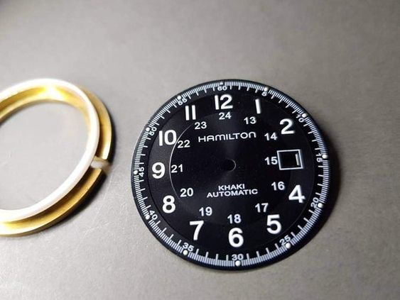Installment of watch spacer ring