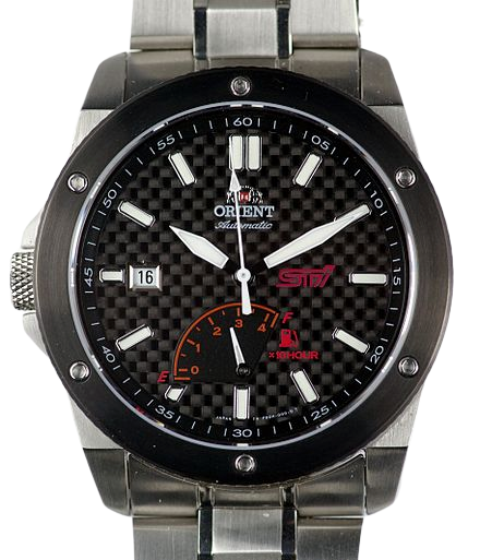 watch with a power reserve indicator