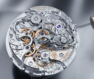 intricate and delicate parts of a watch