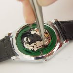 removal of the stem of a watch
